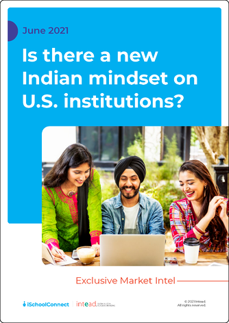 Is there a new Indian mindset on U.S. institutions cover
